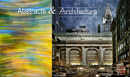 Abstracts & Architecture photography exhibition at Sun to Moon Gallery, Dallas, TX