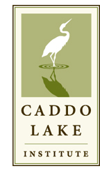 Caddo Lake Institute logo, partial print sale proceeds benefit CLI
