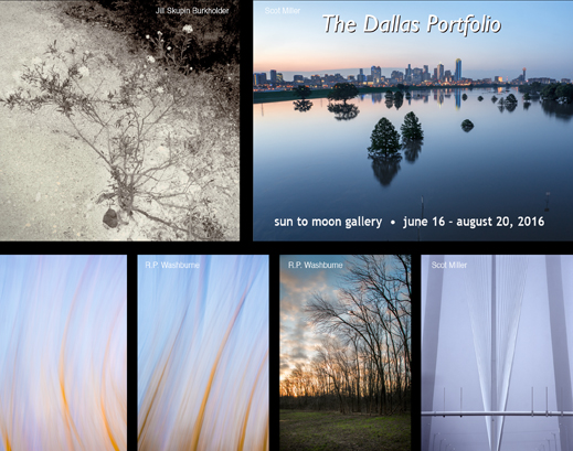 The Dallas Portfolio photography exhibition at Sun to Moon Gallery, Dallas, TX