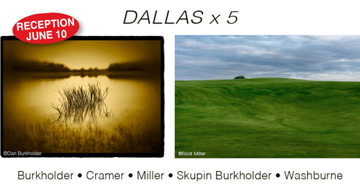 DALLAS x 5 photography exhibition at Sun to Moon Gallery, Dallas, Texas