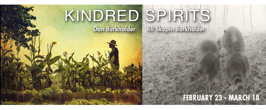 KINDRED SPIRITS, the Photography of Dan Burkholder and Jill Skupin Burkholder, at Sun to Moon Gallery, Dallas, TX