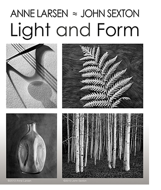 "Amme Larsen and John Sexton"" Light and Form at Sun to Moon Gallery, Dallas, TX"