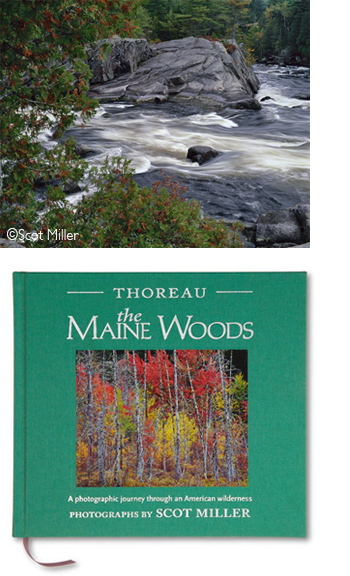 Maine Woods book and photograph by Scot Miller, at Sun to Moon Gallery