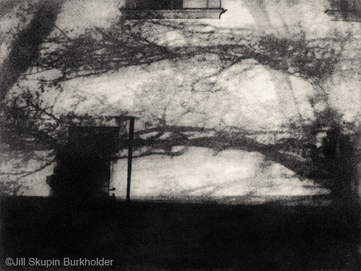 """Shadows on the Wall, Prague"" photograph by Jill Skupin Burkholder, at Sun to Moon Gallery"