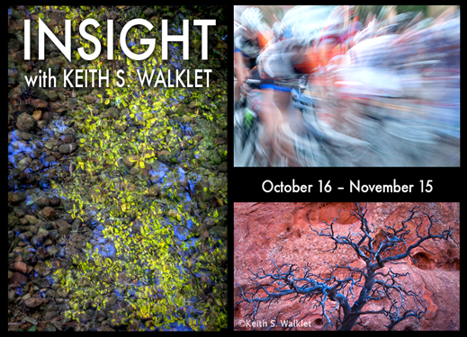 INSIGHT with Keith S. Walklet photography exhibtion at Sun to Moon Gallery, Dallas, TX
