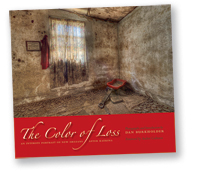 "Dan Burkholder's ""Thye Color of Loss"" book at Sun to Moon Gallery"