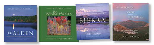 Signed coffee table books by Scot miller make great gifts.