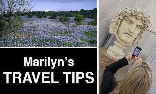 Marilyn's Travel Tips