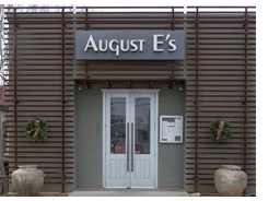 August E's restaurant in Fredericksburg, TX, photo by Scot Miller, Sun to Moon Gallery